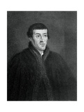 Nicolas Copernicus, Polish Astronomer and Mathematician Giclee Print by E Scriven
