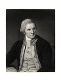 Captain Cook, 19th Century Giclee Print by E Scriven