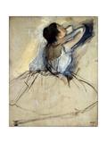 Dancer, C1874 Premium Giclée-tryk af Edgar Degas