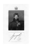George IV, King of the United Kingdom and Hanover, 19th Century Giclee Print by E Scriven