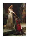 The Accolade, 1901 Lámina giclée por Leighton, Edmund Blair