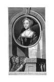 Jane Seymour, Queen Consort of England and Third Wife of Henry VIII Giclée-Druck von Cornelis Vermeulen