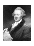 Sir William Herschel, German-Born British Astronomer Giclee Print by E Scriven