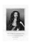 James, Duke of Monmouth Giclee Print by E Scriven