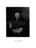 Sir John More, English Lawyer Giclee Print by E Scriven