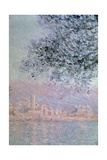 View of Antibes, Detail, 1888 Giclee Print by Claude Monet