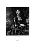 James Scott, 1st Duke of Monmouth, Recognized by Some as James II of England Giclee Print by E Scriven