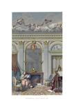 Interior under Louis XVI Giclee Print by  Durin