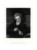 William Wilberforce, English Anti-Slavery Campaigner, 19th Century Giclee Print by E Scriven