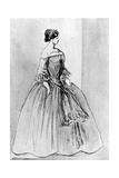 Portrait of a Woman, 19th Century Giclee Print by Constantin Guys