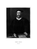 John Knox, Scottish Religious Reformer Giclee Print by E Scriven