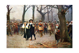 Execution of Charles I, 1649 Giclee Print by Ernest Crofts