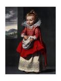Portrait of the Artist's Daughter Magdalena De Vos, 1927 Giclée-Druck von Cornelis de Vos