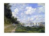 A marina em Argenteuil, 1872 Impressão giclée por Claude Monet
