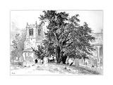 Snitterfield Church, Snitterfield, Warwickshire, 1885 Giclee Print by Edward Hull
