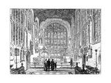 The Chancel of Stratford Church, Stratford-Upon-Avon, Warwickshire, 1885 Giclee Print by Edward Hull