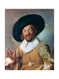 The Merry Drinker, 1628-1630 Giclee Print by Frans Hals