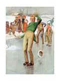 Mr Winkle on the Ice, 1915 Giclee Print by Frank Reynolds