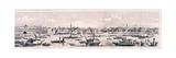 London from the River Thames, 1844 Giclée-Druck von Frank Vizetelly