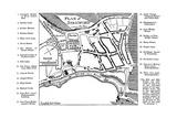 Map of Stratford-Upon-Avon, Warwickshire, 1759 Giclee Print by Edward Hull
