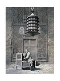 Tomb Door, Mosque of Sultan Barquq, 19th Century Reproduction procédé giclée par Emile Prisse d'Avennes