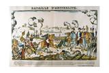 Battle of Austerlitz, December 1805 Giclee Print by Francois Georgin