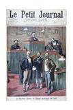 The New Municipal Council of Paris, 1900 Gicléetryck av Eugene Damblans