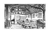 The Grammar School, Stratford-Upon-Avon, Warwickshire, 1885 Giclee Print by Edward Hull