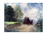 On the Rochester Coach, C1920 Giclee Print by Frank Reynolds