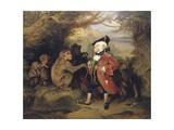The Travelled Monkey, 1827 Giclée-tryk af Edwin Henry Landseer