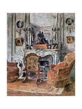 The Living Room, 1900 Giclee Print by Etienne Moreau-Nelaton
