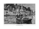 The Last Voyage, C1870-1900 Gicléedruk van Edwin Lord Weeks