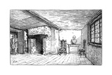 The Room in Which Shakespeare Was Born, Stratford-Upon-Avon, Warwickshire, 1885 Giclee Print by Edward Hull