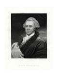 Sir Wilhelm Friedrich Herschel, German-Born British Astronomer and Composer, 19th Century Giclee Print by E Scriven