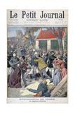 The Legation Deliver, Boxer Rebellion, China, 1900 Gicléetryck av Eugene Damblans