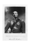 Prince Edward Augustus (1767-182), Duke of Kent and Strathearn, 19th Century Giclee Print by E Scriven