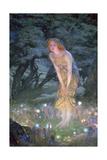 Midsummer Eve, C1871-1914 ジクレープリント : エドワード・ロバート・ヒューズ