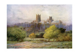 Ely Cathedral, Cambridgeshire, 1924-1926 Giclee Print by FC Varley