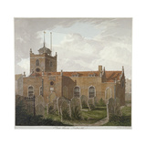 Church of St Paul, Shadwell, London, C1810 Giclee Print by Francis Danby