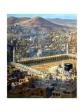 View of Mecca, from La Vie De Mohammed, Prophete D'Allah, C1880-C1920 Giclee-trykk av Etienne Dinet