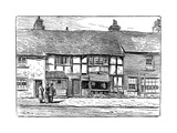 Shakespeare's Birthplace before Restoration, Stratford-Upon-Avon, Warwickshire, 1885 Giclee Print by Edward Hull