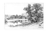 Charlecote Park, Warwickshire, 1885 Giclee Print by Edward Hull