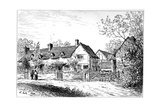 Mary Arden's Cottage at Wilmcote, Warwickshire, 1885 Giclee Print by Edward Hull