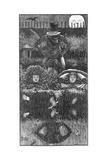 A Legend of Camelot - Part 4, 1866 Giclee-trykk av George Du Maurier
