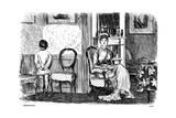 Impenitent, 1878 Giclee-trykk av George Du Maurier