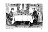 Circumstantial Evidence, 1886 Giclee-trykk av George Du Maurier