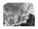 The Martyrdom of Ridley and Latimer, Oxford, 1856 Giclee Print by George Hayter
