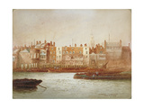 Wharves at Limehouse, London, C1850 Giclee Print by Frederick J Goff