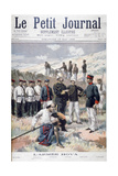 The Hova Army, Madagascar, 1895 Giclee Print by F Meaulle