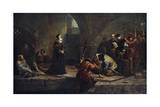 Thomas Cranmer at the Traitor's Gate, 1553 Giclee Print by Frederick Goodall